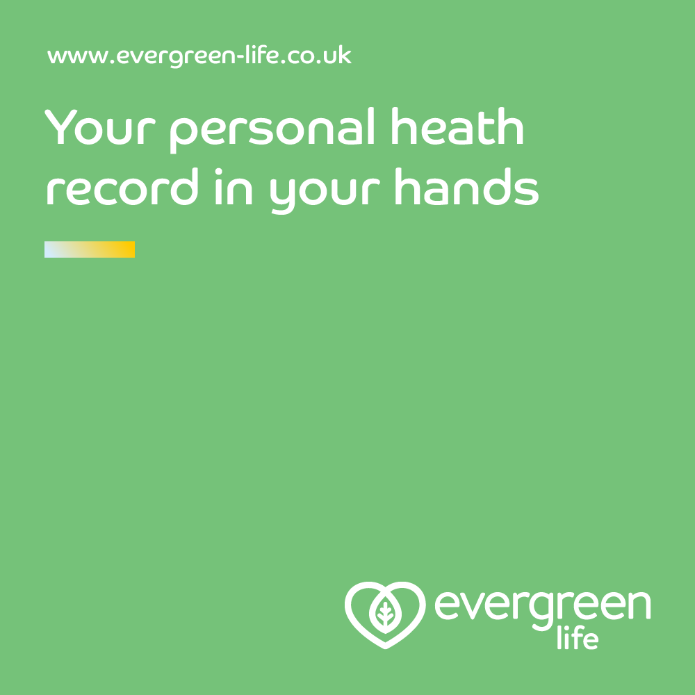 evergreen life app putting your personal health record in your hands