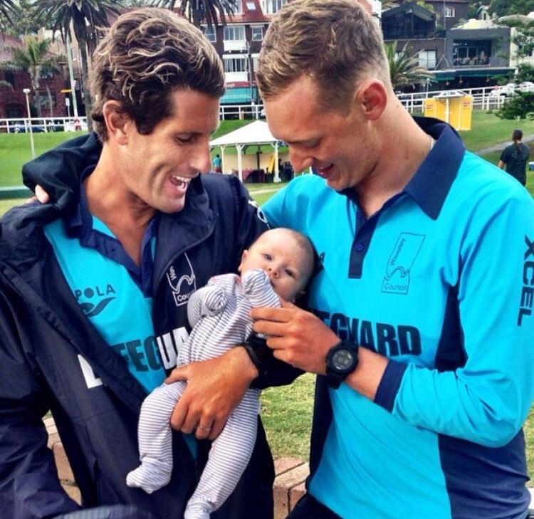 Harries And Maxi Caroline Olds Beach Lifeguard Lifeguard Surfer Boys