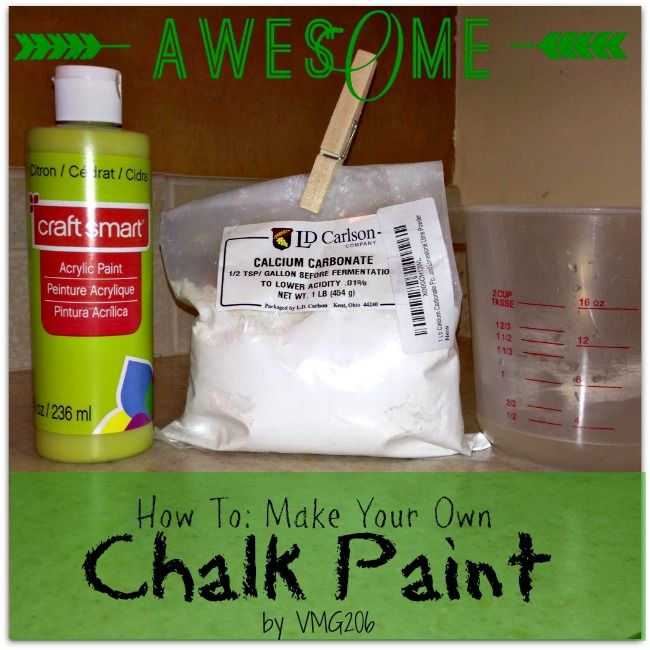 How To Make Your Own Chalk Paint And Giveaway I Can Do
