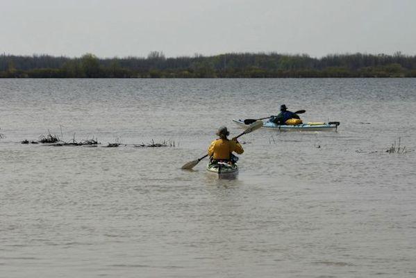 kayak quebec biosphere lac saint pierre