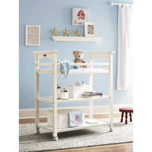 Graco Lauren Baby Changing Table White
