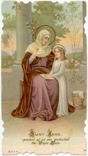 Novena to Saint Anne Day 1
