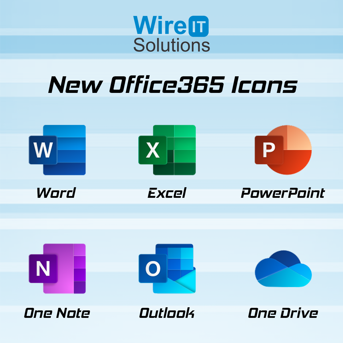 Microsoft Office new logos are here! #Microsoft