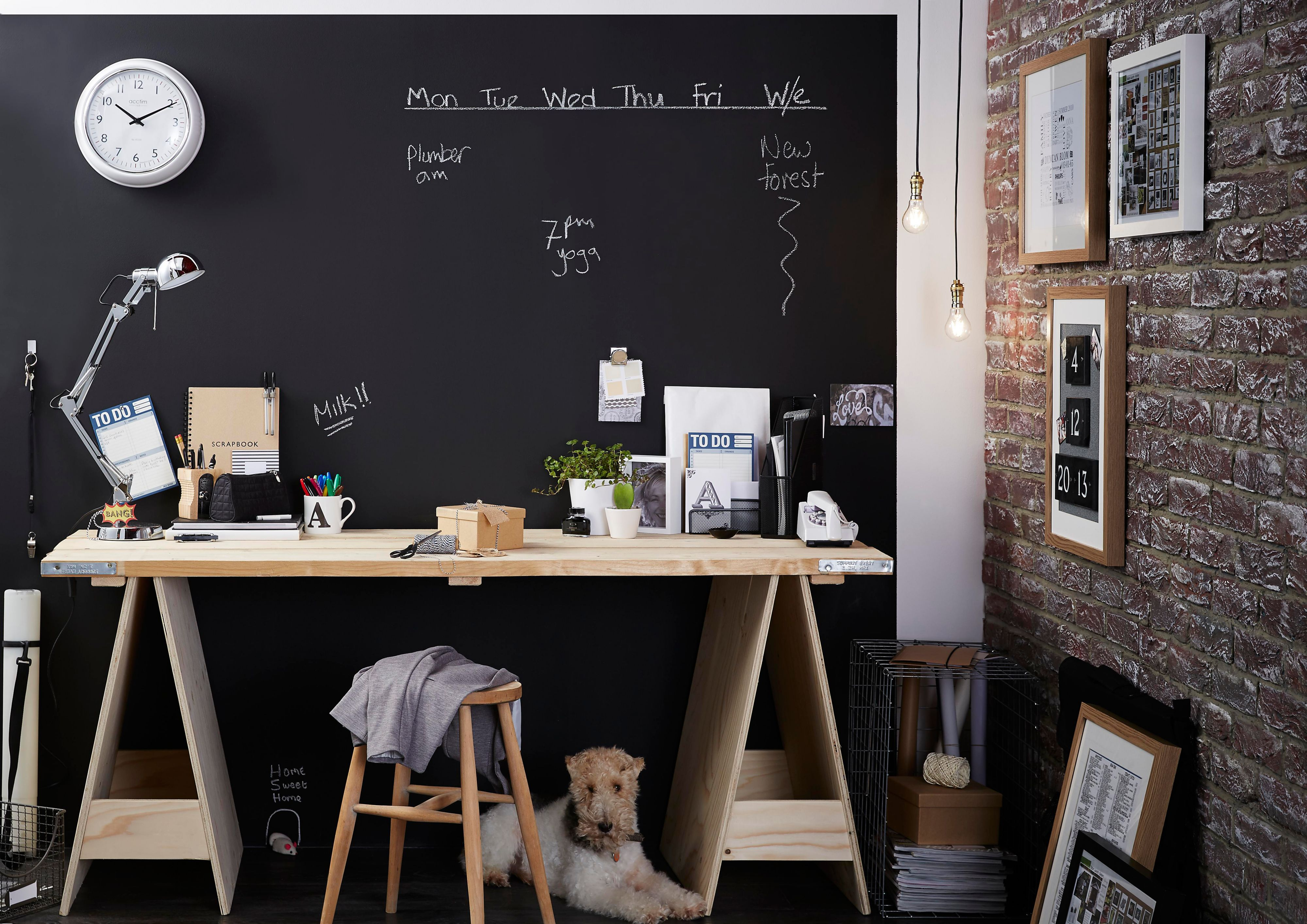 Dou0027s And Donu0027ts Of Chalkboard Paint To Make A Design Statement