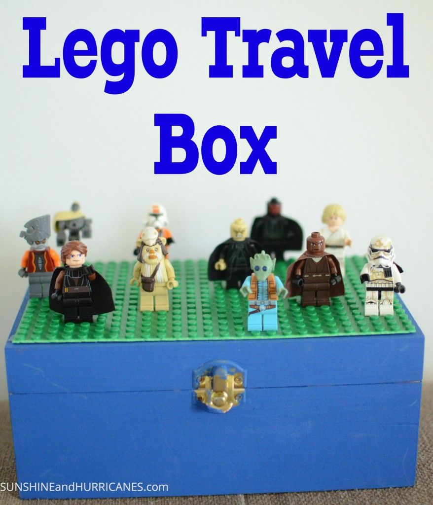 DIY LEGO Travel Box is part of Travel box, Easy crafts for kids, Lego kits, Activities for kids, Family fun, Lego - DIY an easy box to take the Legos wherever you travel, simple and budget friendly for all our frugal friends!