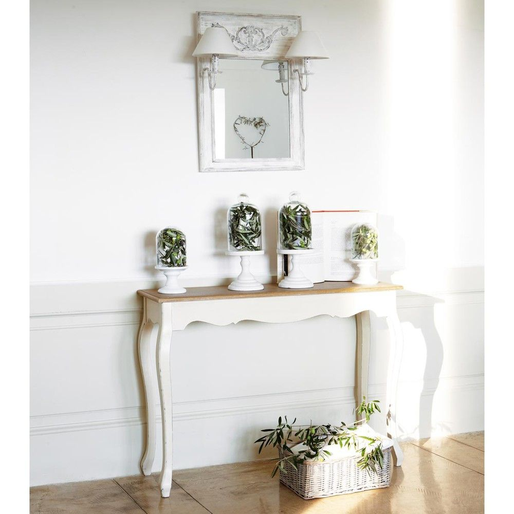 table console crme maisons du monde