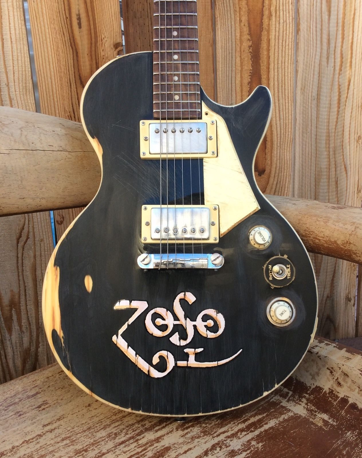 Gibson Epoch Les Paul Heavy Road Worn Relic Jimmy Page Zoso Led Zeppeln Jimmy Page Les Paul Gibson