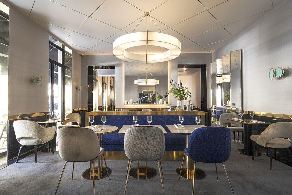 Un restaurant élégante réalisé par Rodolphe Parente Architecture ...