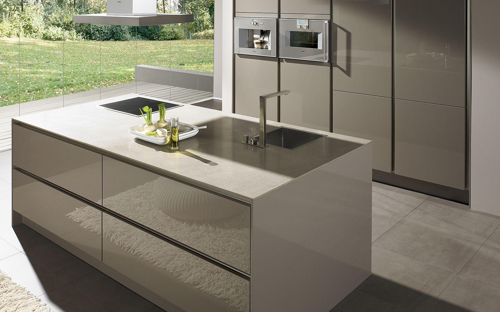 Moderne Küche ohne Griff S2 | siematic.de | Einrichtung | Pinterest ...