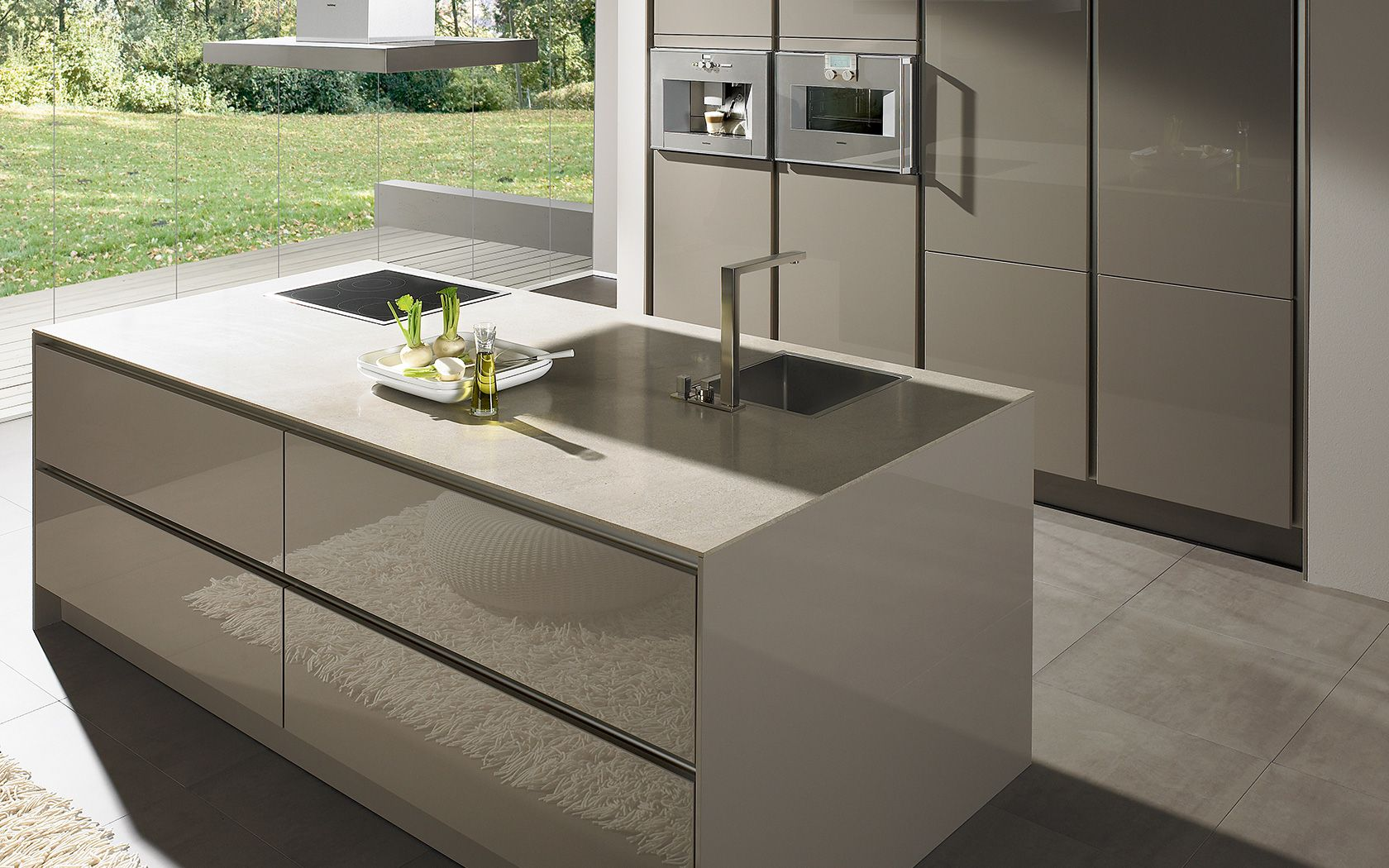 moderne k che ohne griff s2 k che pinterest arbeitsplatte siematic k che. Black Bedroom Furniture Sets. Home Design Ideas