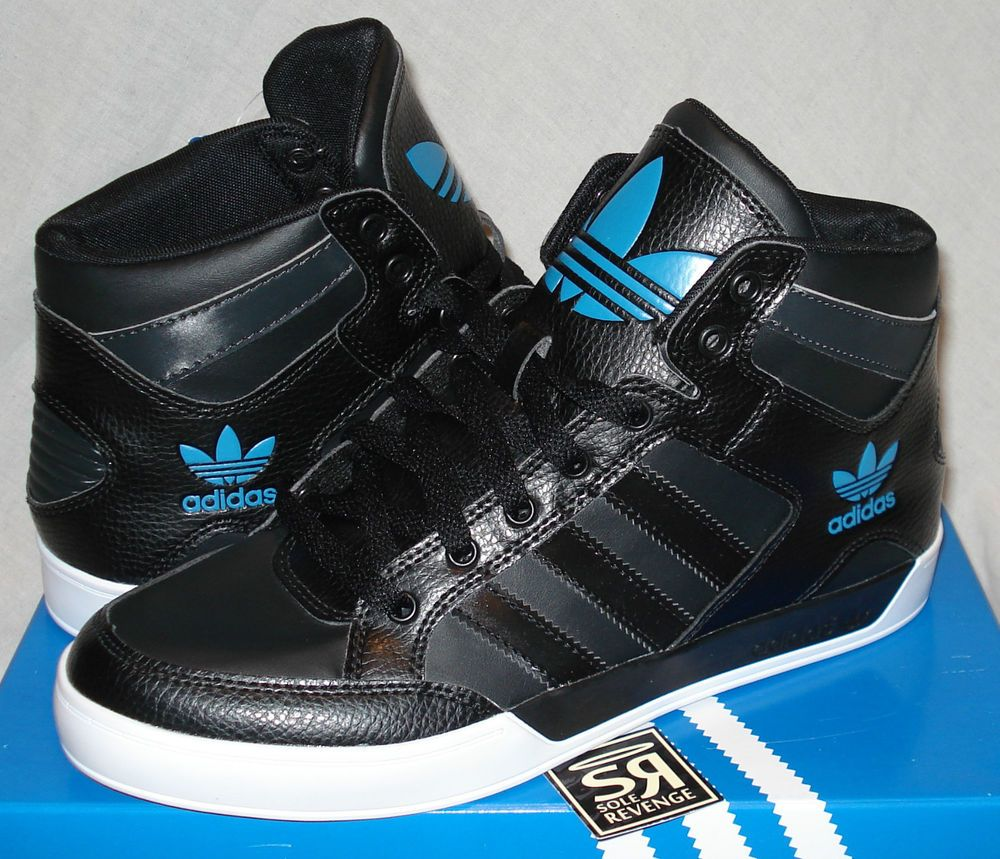 Adidas Shoes High Tops For Boys Black