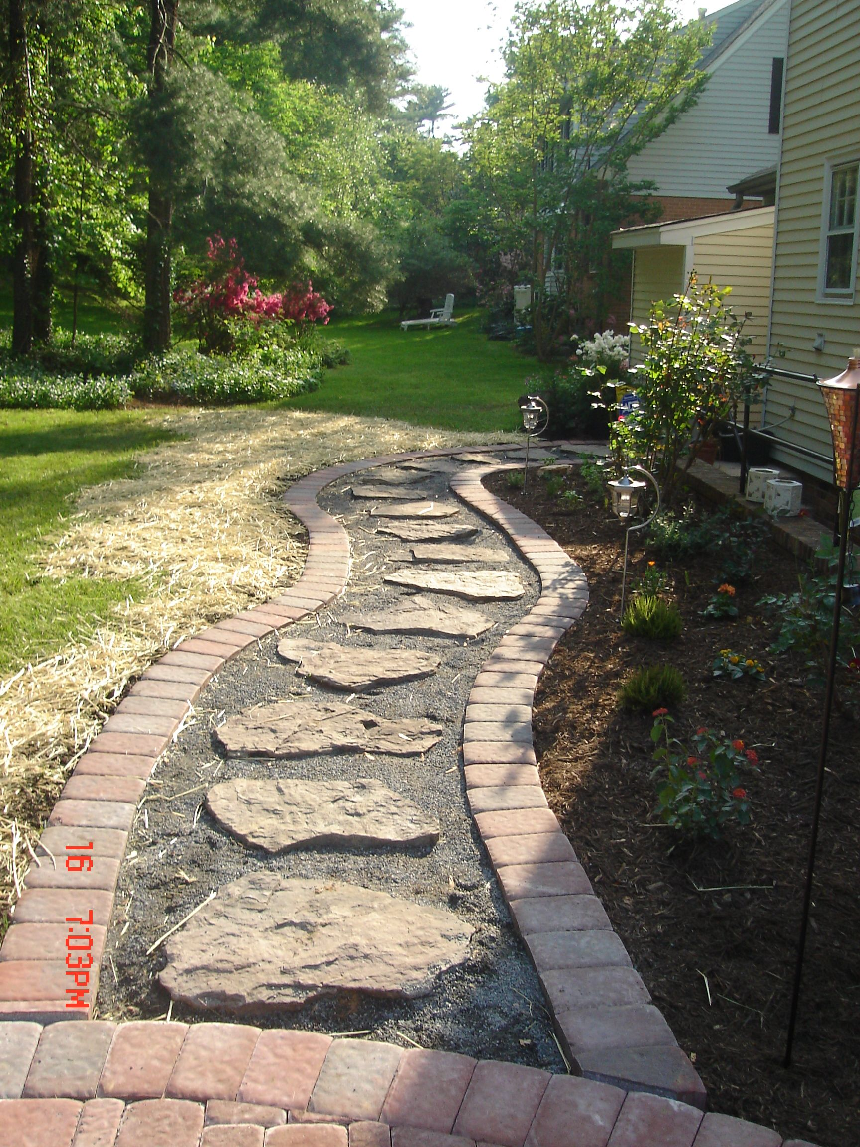 have trouble sometimes getting around your yard a on extraordinary garden stone pathway ideas to copy id=46728
