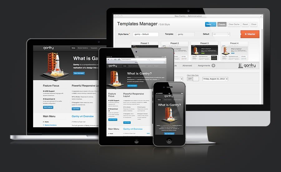 Gantry Responsive design for Wordpress and Joomla | Agile Netup ...