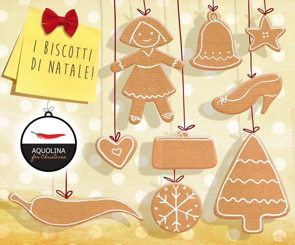 Non è Natale se... non si preparano almeno una volta i biscotti natalizi! #aquolinaforChristmas #nonenatalese