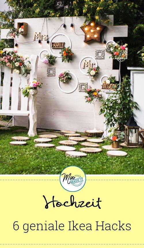 Photo of 6 preiswerte Ikea-Tricks für Ihre Hochzeit