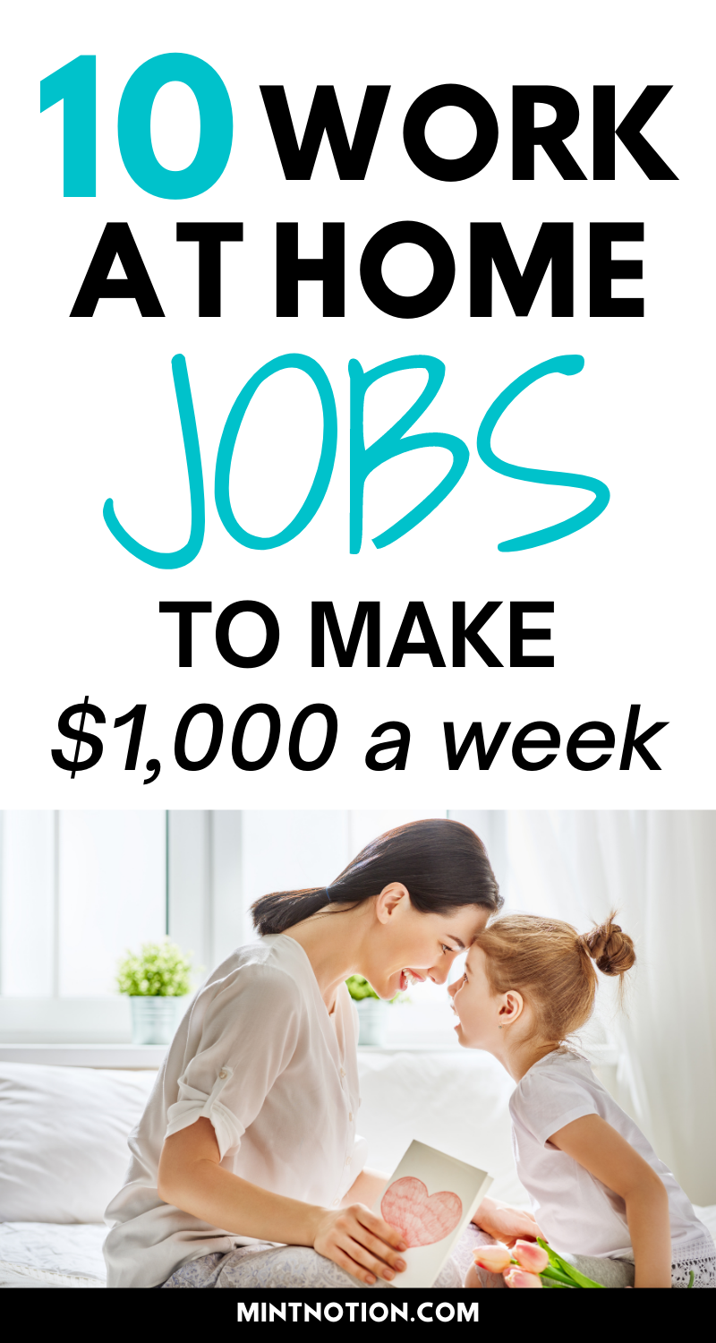 10 Stay At Home Mom Jobs Flexible And High Paying Work From Home Jobs Mom Jobs Working From Home