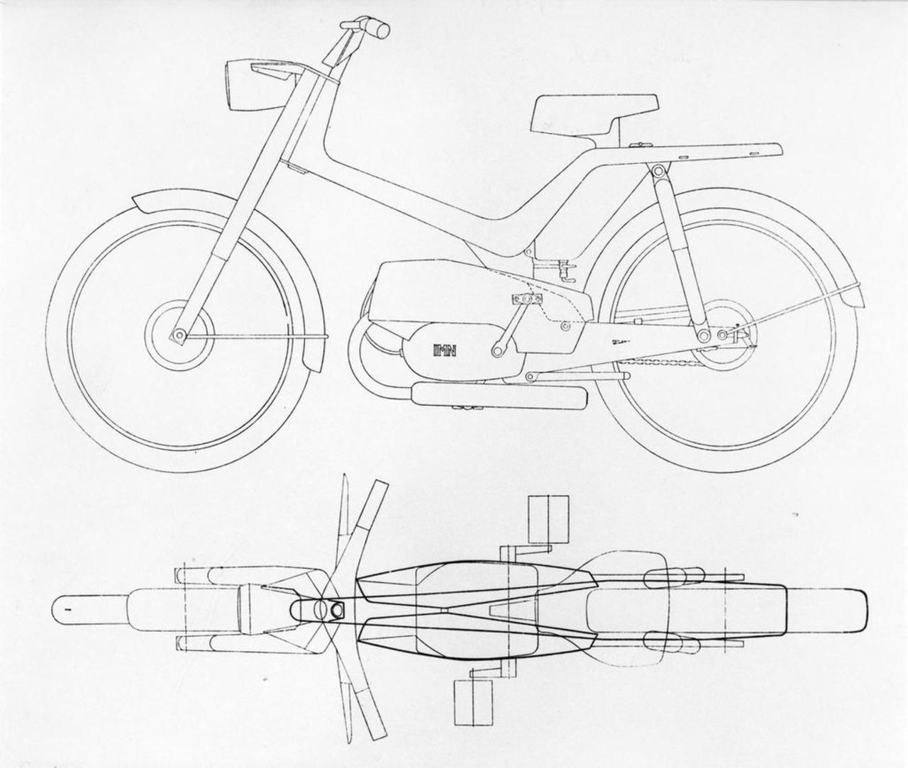 Richard Sapper - Moped - 1958