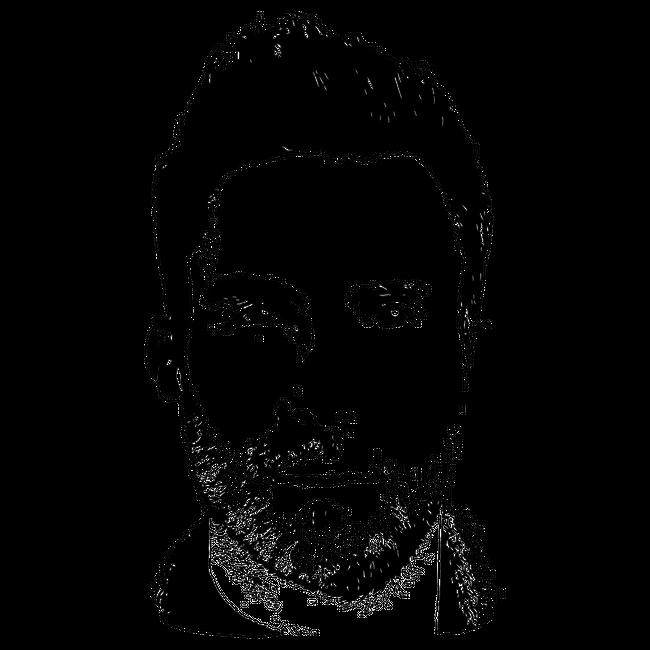 Adam Levine Silhouette Coaster By Sam B Set Of 4 Adam Levine Silhouette Cricut Air