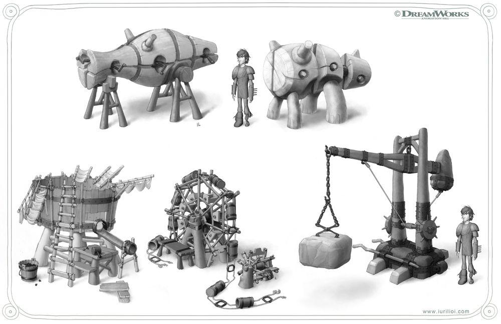 p6 blacksmithshop devices iuri lioi 580x375 Art of How to Train Your Dragon 2