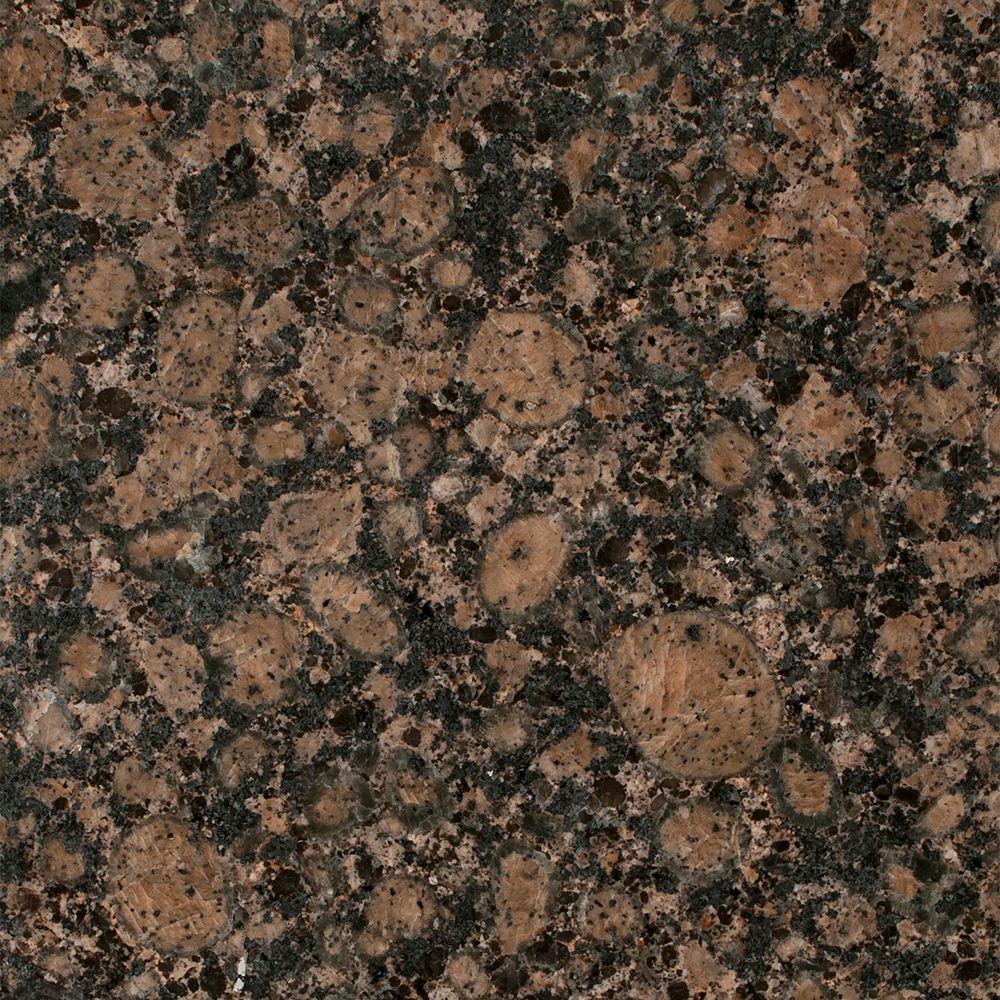 Stonemark 3 In X 3 In Granite Countertop Sample In Baltic Brown