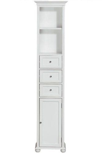 Hampton Bay 15w Standard Linen Storage Cabinet 15w White By Home