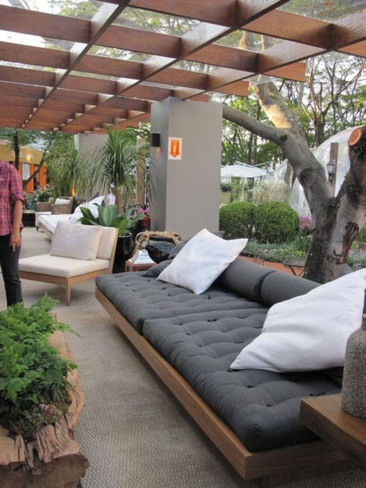Photo of 42 Design a family room in a garden #a #family room #gar …