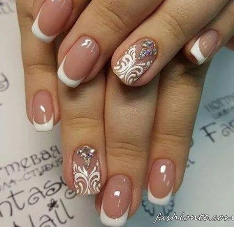 Pictures Of French Manicure Nail Art Designs 2017 And 20178 Related Postsunique DesignsEasy