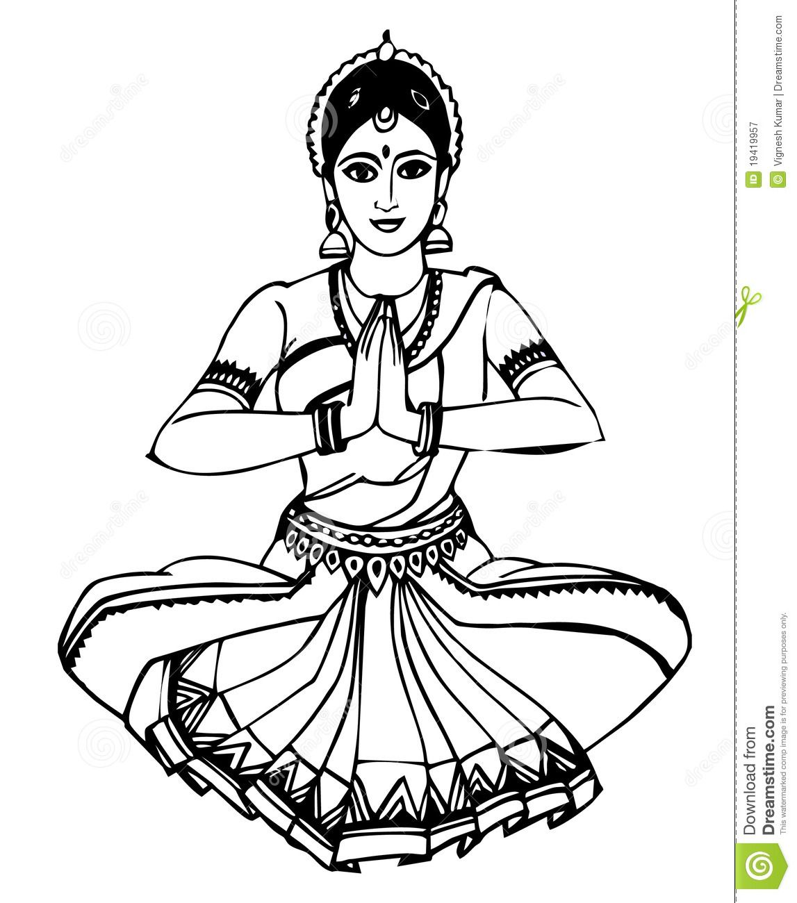 Dancer Coloring Pages