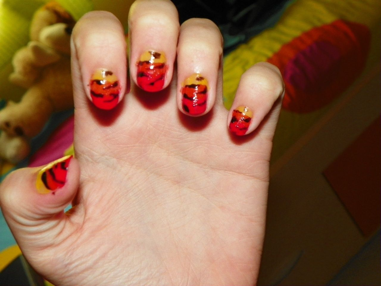 Degraded nails :)