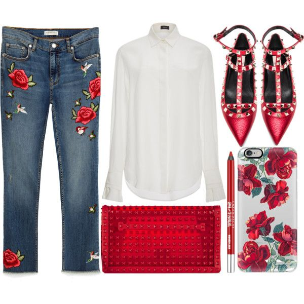 street style by sisaez on Polyvore featuring Joseph, Valentino, Casetify and Urban Decay