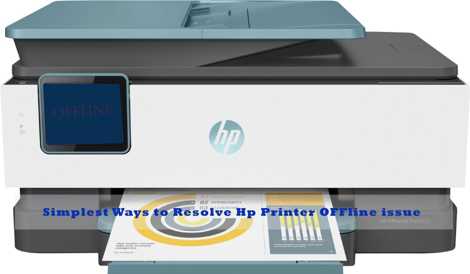 Simplest Ways to Resolve Hp Printer Issue. Hp printer