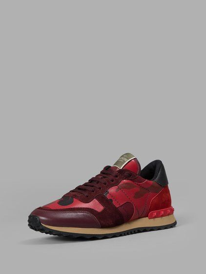 eda4ea11a594 VALENTINO Runner All Red.....  valentino  shoes  sneakers ...