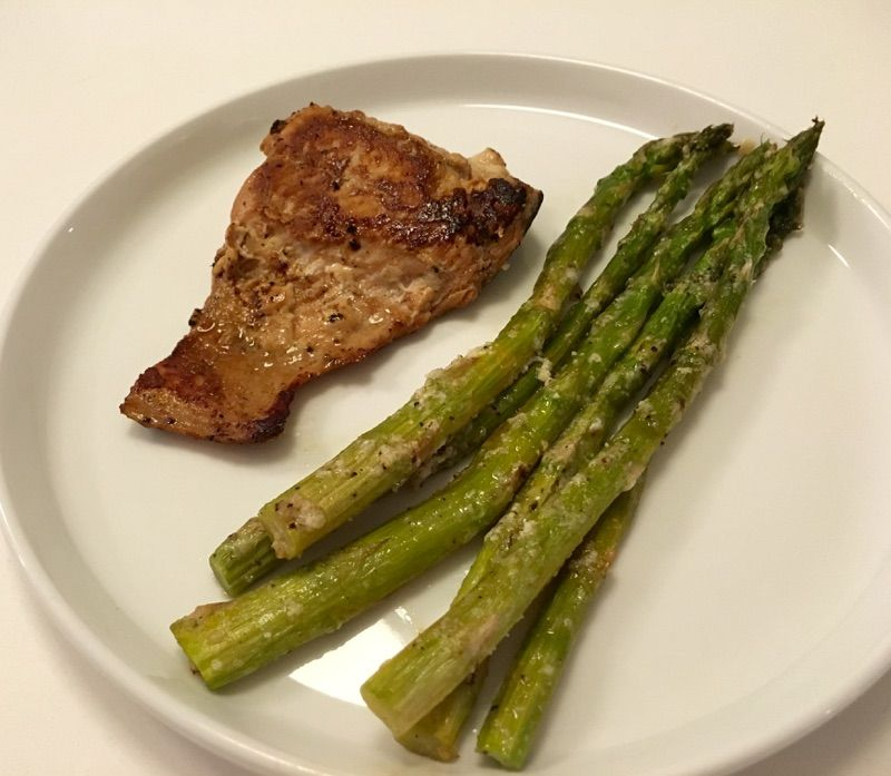 Roasted Parmesan Asparagus - Easy Living Today
