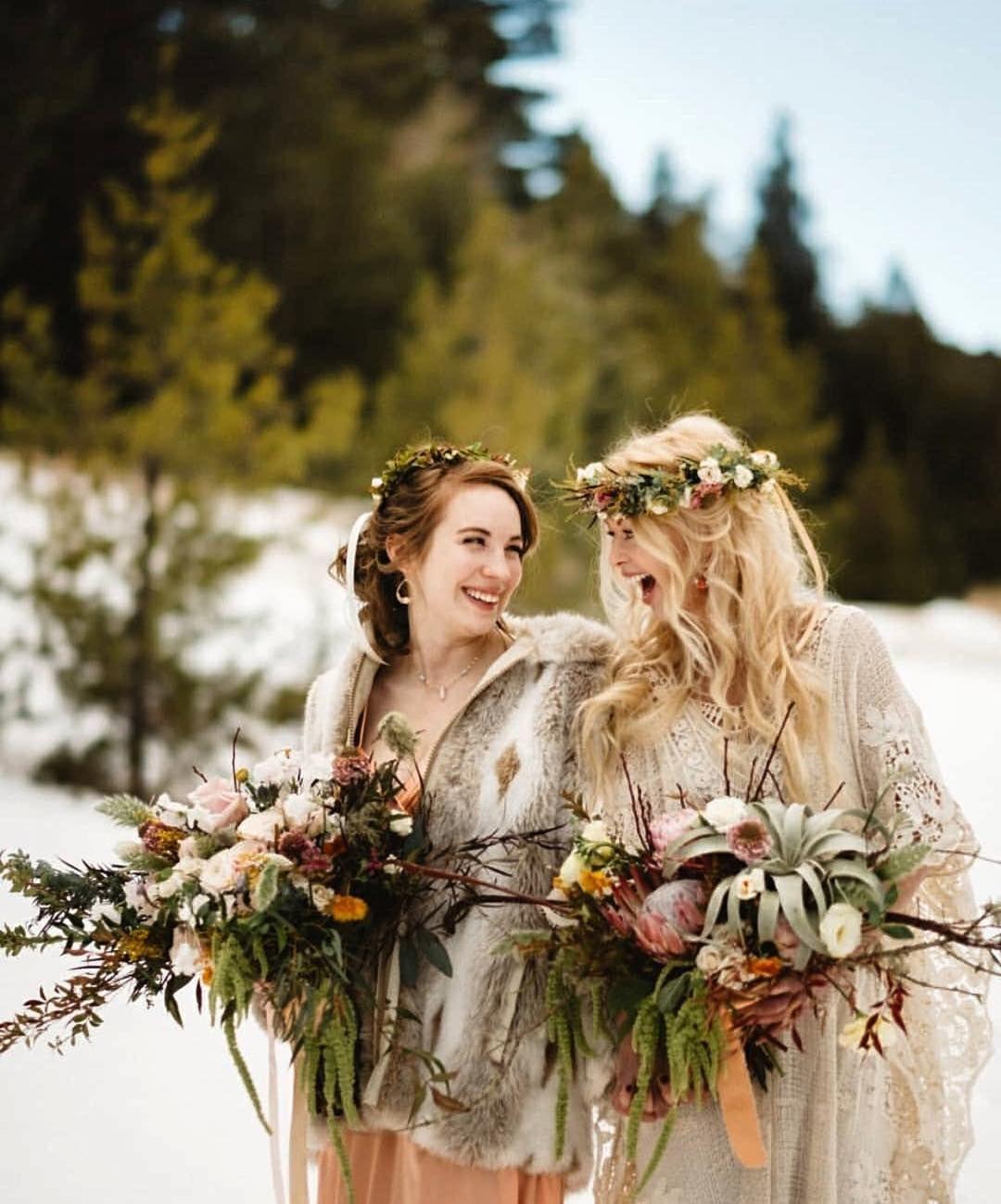 Boho bridal style elopetonewzealand LBGTbridalstyle