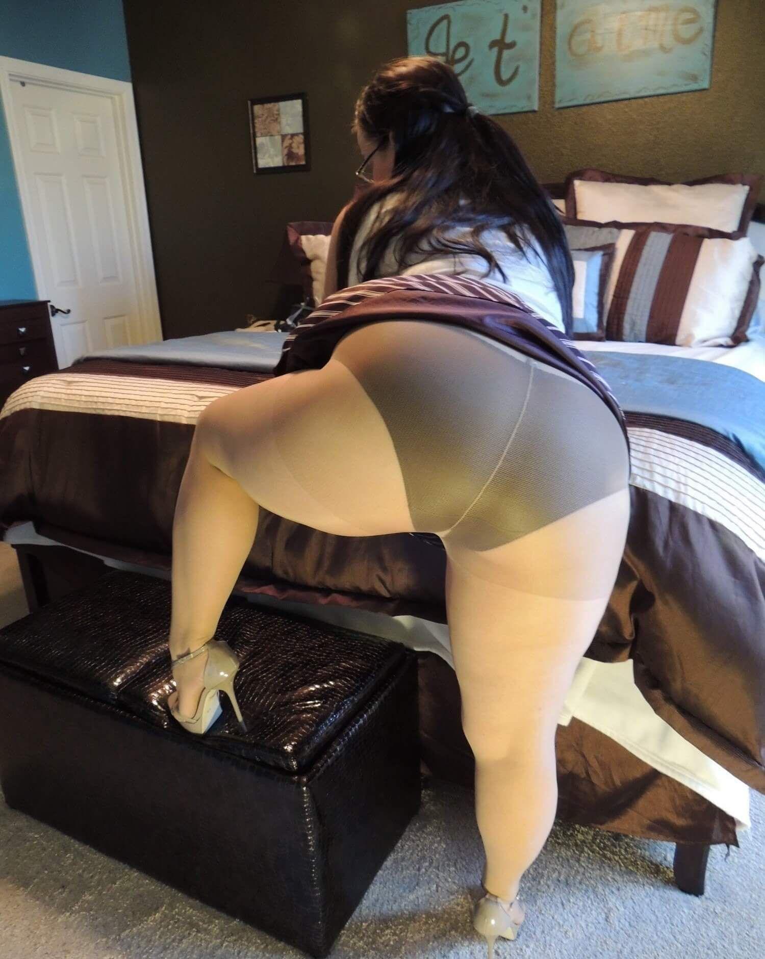 Bbw pantyhose damn