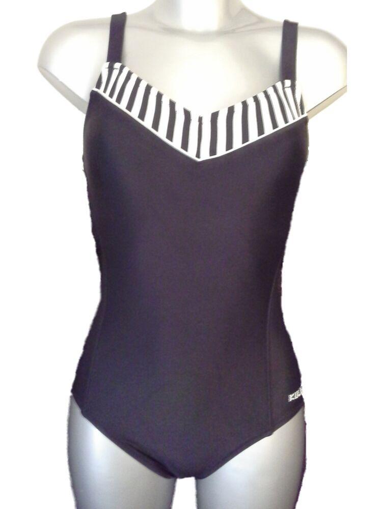 d8c4314ece New Black & White Swimsuit UK 10 Ladies Bathing Suit Swimming Costume No  padding #fashion #kleidung #accessoires #damenmode #bademode (ebay link)