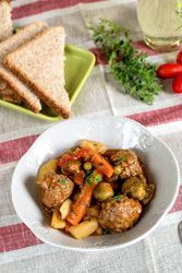Photo of Meatballs in a stew – #Boulettes #de #en #ragout # …