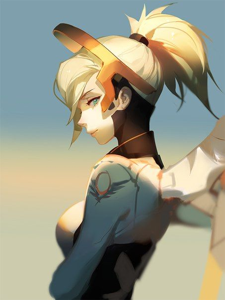 Fotografiya Mercy Overwatch Overwatch Wallpapers Overwatch