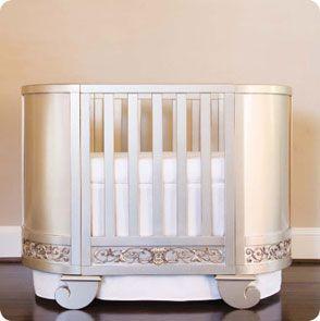 Baby Crib Designer Nursery Luxury Chelsea Oval