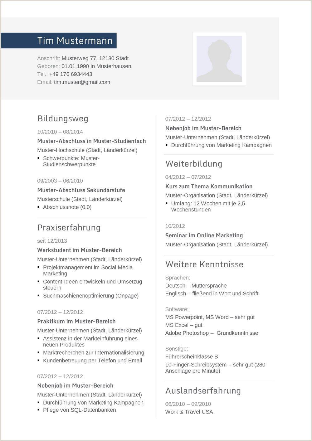 Muster Lebenslauf Ingenieur Word in 2020 Resume format