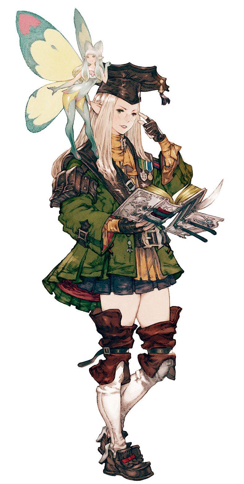 FFXIV Scholar and fairy | Final fantasy | Pinterest | RPG