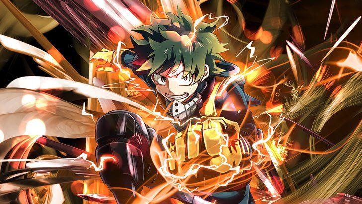 Izuku Midoriya, One For All Full Cowl, My Hero Academia