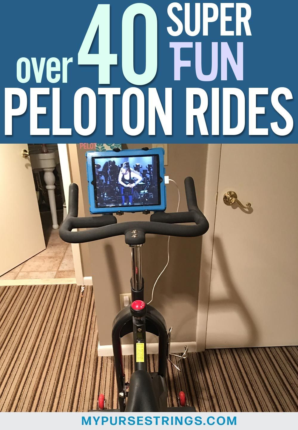 How to find the best peloton rides fun themed fan