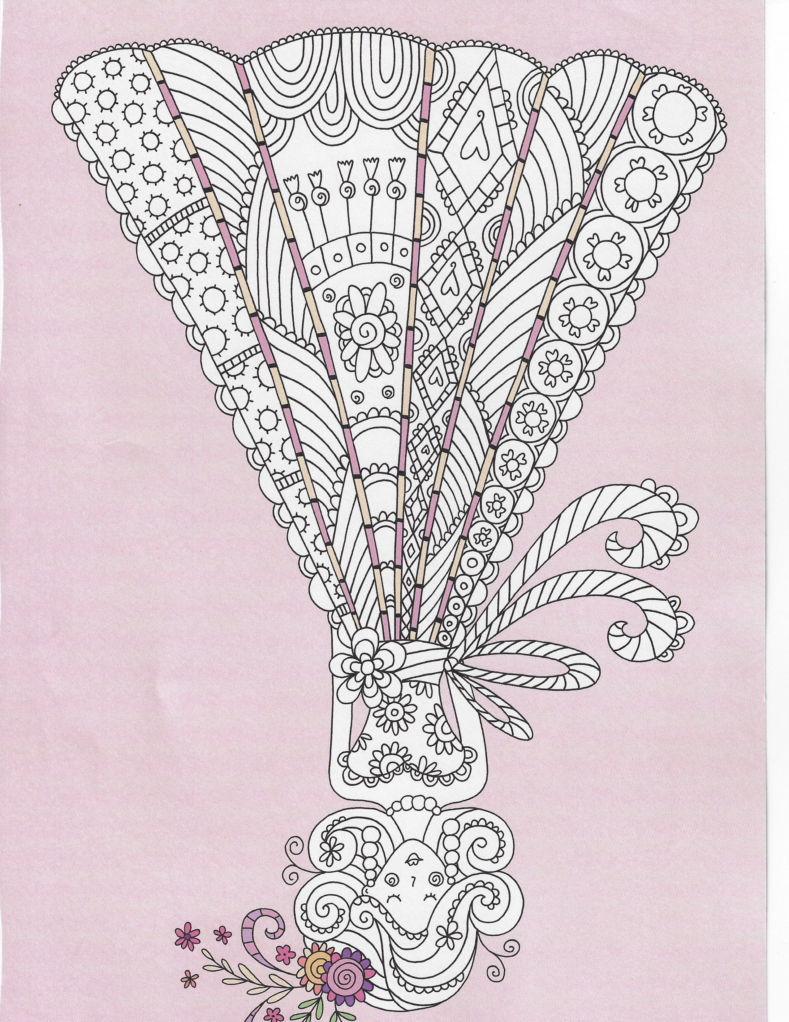 2019 scanned coloring pages image by LaLa Dewitt