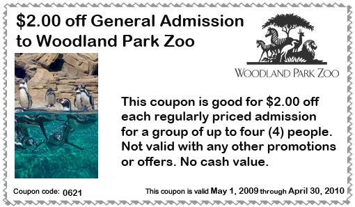 Woodland Park Zoo Printable Coupons Http Www Pinterest Com Takecouponss Phoenix Zoo Coupons Woodland Park Zoo Coupons Zoo