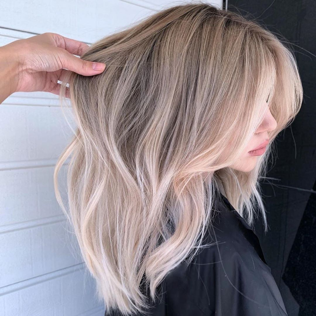 Blonder Blonder Auf Instagram Polinazhdanovaa
