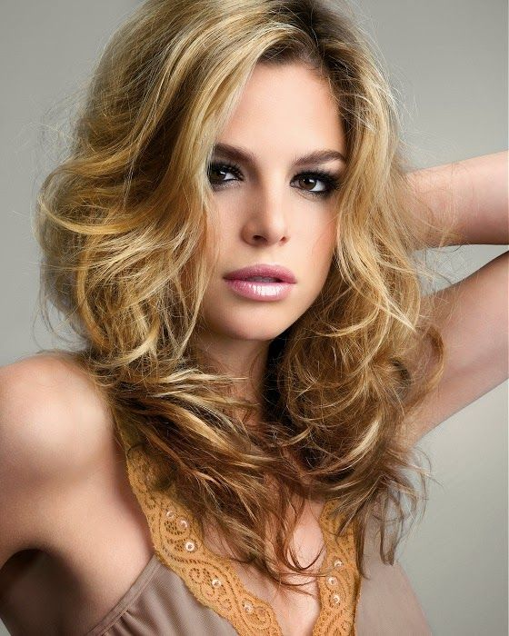 moda cabellos cortes de pelo ondulado primavera verano