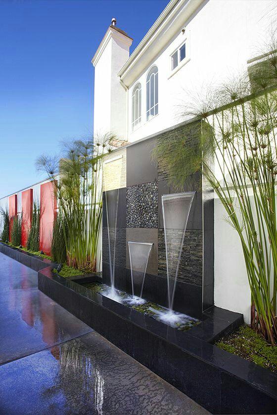 Exterior Fountain Stone Textures Backyard In 2018 Pinterest - Fuentes-exterior