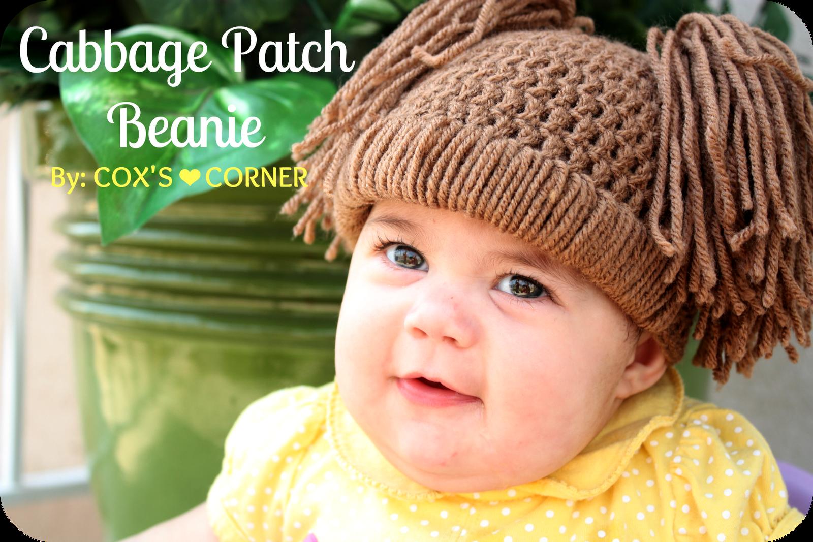 Coxs Corner Cabbage Patch Doll Hat Tutorial Crochet Knitting