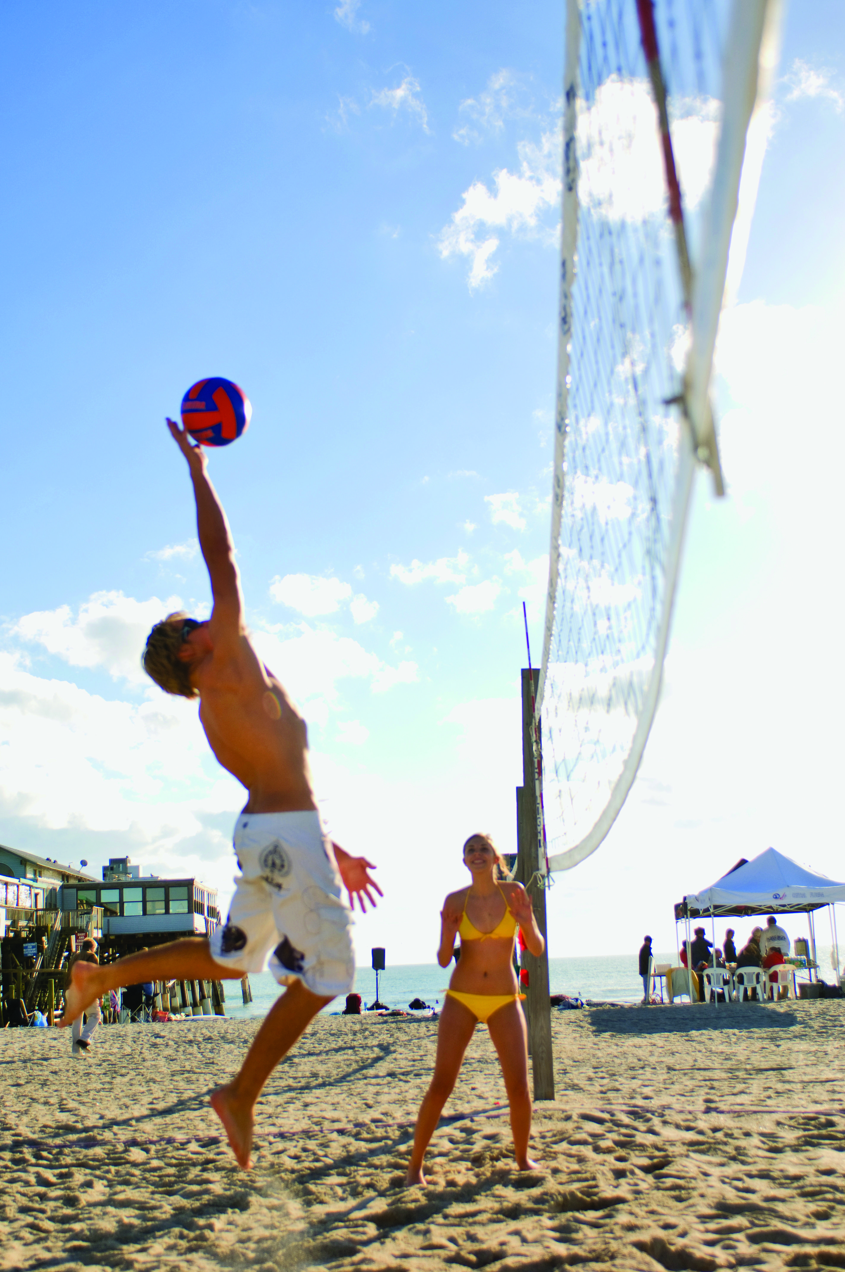 Pin By Holiday Inn Club Vacations On Florida Space Coast Vacation Inspiration Travel And Tourism Sand Volleyball Court Vacation Inspiration